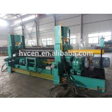 Machine de laminage de plaques W11s 12 * 2500 / rouleau supérieur machine de laminage universelle / machine à rouler hydraulique à 3 rouleaux