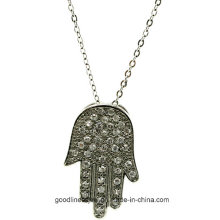 Good Quality and Sterling Silver Hand Pendant, Fashion Pendant Jewelry P5010