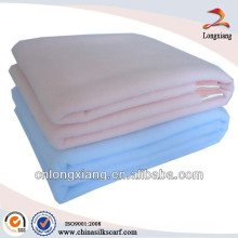 100% algodón sólido mantas hospital