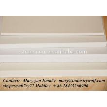 cartón de espuma de pvc extruido de alta densidad precio más barato ventas / láminas de plexiglás / materiales en la fabricación de zapatillas / hojas de policarbonato