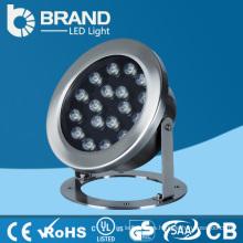 RGB Color LED Luz subacuática 21W, luz subacuática del LED 110v
