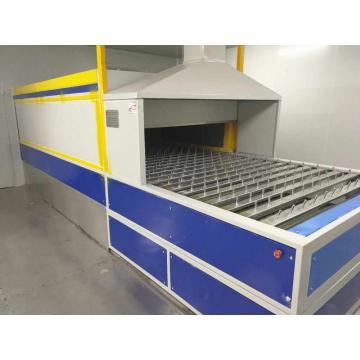 spray coating tunnel drying oven