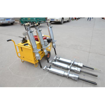 Diesel Driven Hydraulic Splitters for Granite Rock