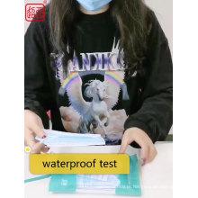 Máscara facial descartável azul 3ply tamanho adulto