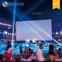 Afficheur de projection de cinéma à écran gonflable pour téléviseur Écran de film gonflable à l'extérieur