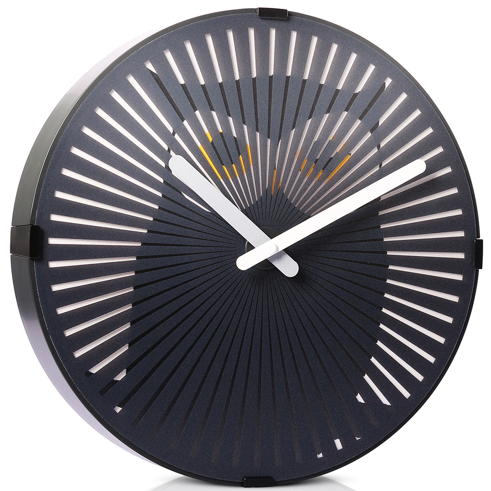 Motion Wall Clock- Cartoon Owl