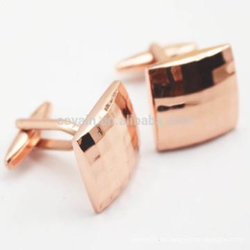 Cufflinks De Cobre Personalizado Con Plaid