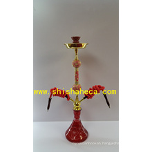 Top Quality Colorful Zinc Alloy Nargile Smoking Pipe Shisha Hookah