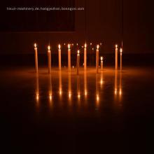 Maschine gemacht dekorative flammenlose lange brennende Kerze