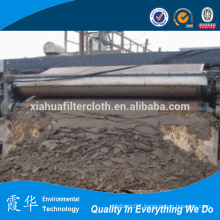 Filter belt for waste treatment