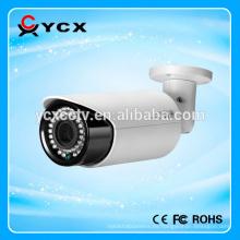 Buenas noches de visión de la red de la cámara IP Full HD 1.0 Mega Píxel 720P cámara IP Bullet P2P Nube Mobile Vigilancia