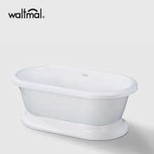 Stylish Small Freestanding Bathtub for Small Bathroom
