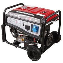 Óleo permanente gerador de gasolina de 5kw