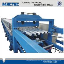 High-End-vollautomatische verzinkte Bodenbelag-Kaltrollen-Umformmaschine