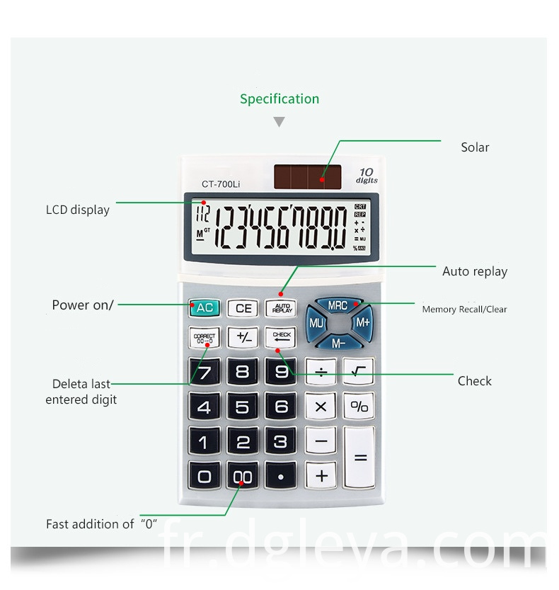 A Calculator of Pocket
