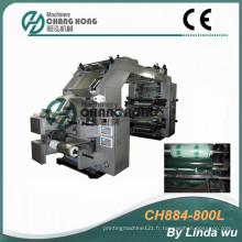 Machine d'impression flexographique en feuille d'aluminium (CH884-800L)