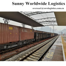 40HQ FCL Railway freight from Qingzhou to Almaty