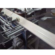Linha de extrusão de perfis de pedra em PVC