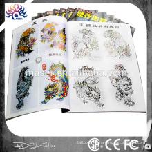 2015 novo design A4 flash tatuagem 24 conjunto de tatuagem livro profissional animal desenho tatuagem esboço livro para artistas