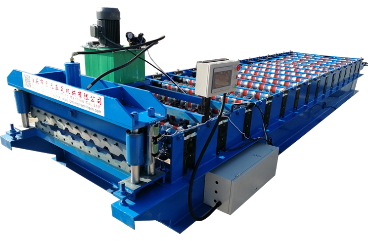steel roof forming machine