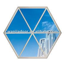 Projeto moderno da grade da janela do alumínio da fábrica de Foshan