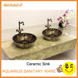 hot sales ceramic american cupc above counter face basin