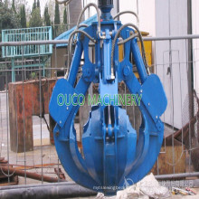 Electric Hydraulic Orange Peel Octopus Grab Bucket
