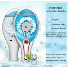 Handheld USB Mini Misting Fan para Home Office