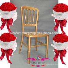 Fabricante direto cadeira de castelo de madeira banquete