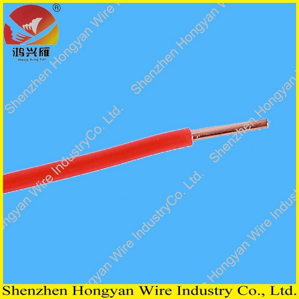 Red PVC Insulated Single Core Copper Wire