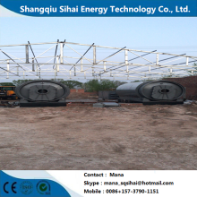 Refine Waste Tire Into Oil Pyrolysis Plant