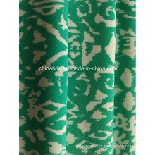 Tecido de impressão verde para roupas esportivas (HD1401105)