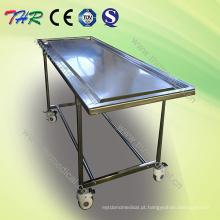 Tabela de embalsamento de aço inoxidável (THR-105)