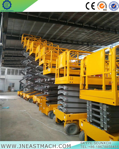 Self Propelled Hydraulic Man Lift Mobile Scissor Lift