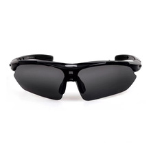 Men′s and Women′s Polarized Cycling Glasses, Outdoor Sports Bike Glasses with Myopia Frame, Bicycle Equipment