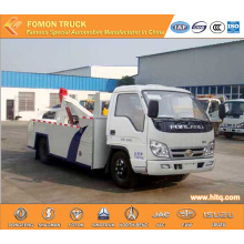 FOTON 4x2 crane wrecker emergency rescue truck