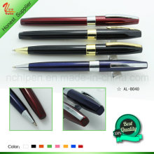 Plus récent clip court Metal Roller Pen Gift Items