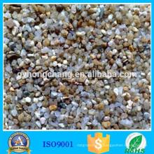 Matériau filtrant de sable de quartz ordinaire de sédimentation d'eaux d'égout