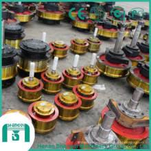 Aplicación de la industria Taller seguro y confiable Use la rueda de la grúa