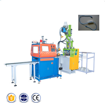 Automatisk String Hang Tag Injection Molding Machine