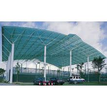 Легкий строительный материал стальной конструкции для крыши бадминтона