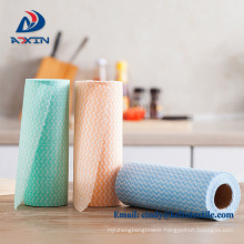 Disposable cheap spunlace nonwoven dish cloth for kitchen
