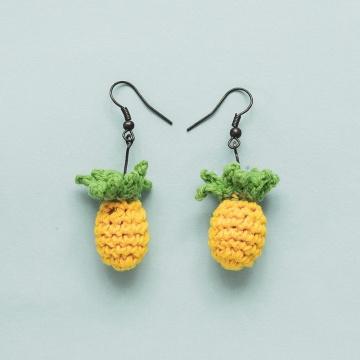 High Quality Handmade Knitting Crochet earring For Beginners