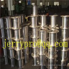 DIN100-630 Bobinas de cabo de bobina de madeira plana de alta velocidade carretéis de cabo de aço