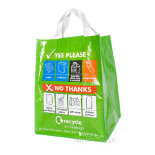 55 Liter Kerbside PP gewebte Recycling Tasche (hbwo-53)
