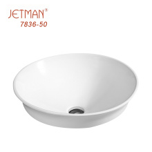 Fancy design oval bathroom wash basin Competitive price Solid Surface Basin