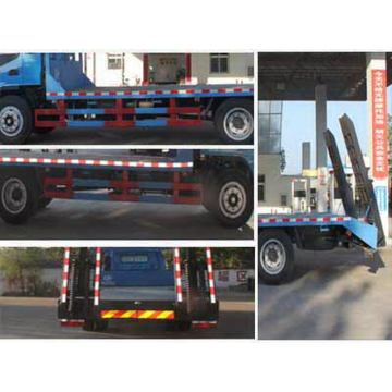 JAC 6.2m Low Bed Flat Transport Trailer