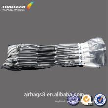 Cartucho de embalagem de saco de ar inflável preto resistente ao choque transporte personalizado