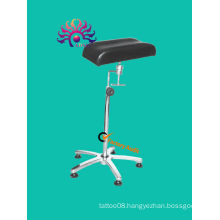 stainless steel holder, 360 degree adjust tattoo arm and leg rest