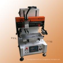 Máquina automática de impresión de pantalla de seda plana de grado pequeño para papel